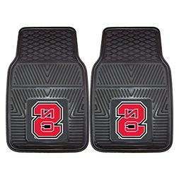 Fanmats 10988 North Carolina State Wolfpack Front Row Vinyl