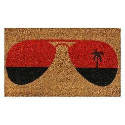 "Home & More 121361729 Tropical View Doormat, 17"" x 29"" x 0.6"