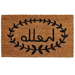 Calloway Mills 121811729 Home & More Calico Hello Doormat, 1