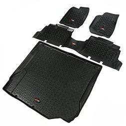 Rugged Ridge 12988.01 All Terrain; Floor Liner; Front And Re