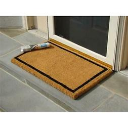 KEMPF 1860 36 in. x 60 in. Border Coco Coir Doormat - Heavy