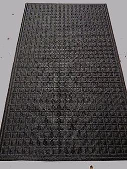 2 = Pieces 18'' x 30'' Rubber Door Mat Heavy Duty Entrance E