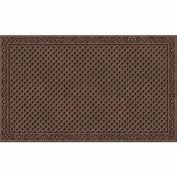 Apache Mills 2536241 18 x 30 In. Doormat Iron Lat, Walnut