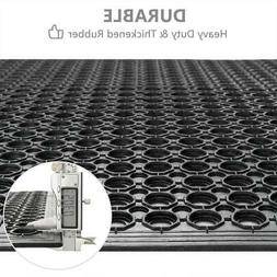 "36"" x 60"" Heavy-Duty Black Commercial  Anti-Fatigue Floor Ma"