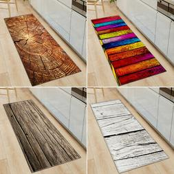3D Print Thick Flannel Non-slip Kitchen Floor Mat Door Mat B