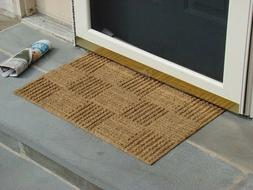 KEMPF 5180 18 in. x 30 in. Coco Rug Door Mat Low Clearance