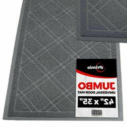 SlipToGrip 42x35GrayDoor Gray Door Mat
