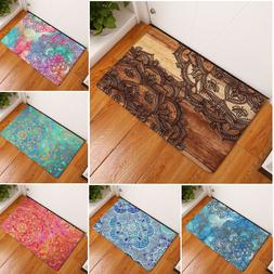 Anti-skid Doormat Floor Bath Mat Kitchen Bathroom Outdoor Ru