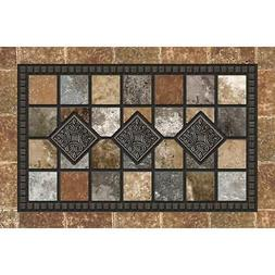 Apache Masterpiece Redstone 24 In. x 36 In. Fiber/Recycled R