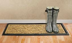 Bungalow Flooring Aqua Shield Boot Tray Fall Day Gold 15 in.