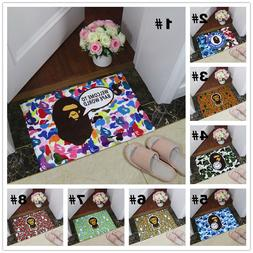 A Bathing Ape Bathroom Bedroom Non-slip Door mat Floor Mats