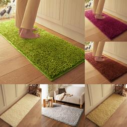 Bathroom Non-slip Plush Carpet Floor Mat Home Kitchen Door B