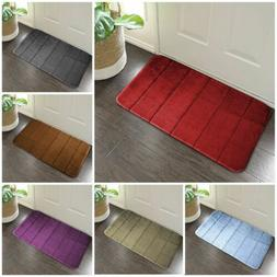 Bedroom Hall Kitchen Non Slip safety Door Mat Washable Indoo