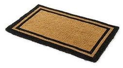 Kempf Natural Coco Coir Outdoor doormats with Black Border K