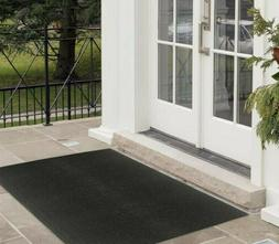Black Door Mat 24 IN x 36 IN Heavy Duty Commercial Residenti