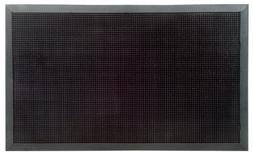 XL Outdoor Black Rubber Stud Door Mat