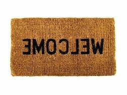 Brand New Kempf Welcome Natural Coco Coir Doormat, 16 by 27