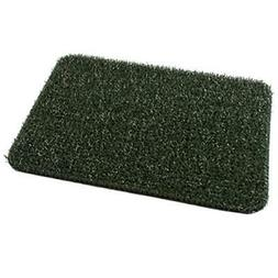 "GrassWorx Clean Machine Flair Doormat, 18"" x 30"", Evergreen"