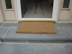 "Plain Coir Coco Doormat 1"" Thick"