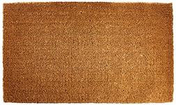 "Kempf Natural Coco Coir Doormat, 22-inch by 36-inch, 1"" Thic"