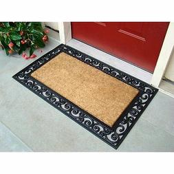Natural Coco Doormat Outdoor Welcome Front Door Mat Entry Ru
