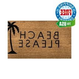 Coir Door Mat | Vinyl Backed | Indoor/Outdoor | Specialty De