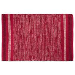 DII Contemporary Reversible Indoor Area Rag Rug, Machine Was