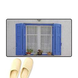 zojihouse Country Door Mats for Inside Typical Greek Style W
