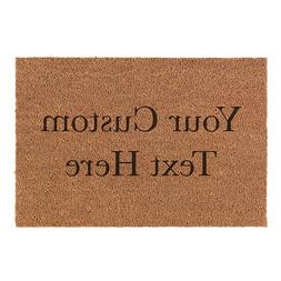 Custom Personalized Your Text Here Natural Fiber Laser Engra