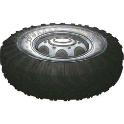 dad s garage tire shaped door mat