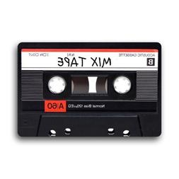 Decorative Mixtape Cassette Funny Retro Vintage Doormats Wel