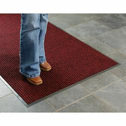 Apache Mills Deep Cleaning Ribbed Entrance Mat, Red, 36 x 60