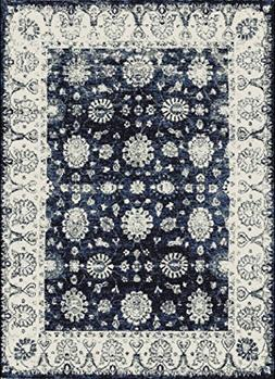 Distressed Area Rugs 2x3 Door Mat Indoor Navy Small Rugs for