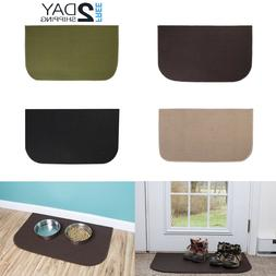 Door Area Mat Carpet Non Slip 18x30 Stain Resistant Accent K