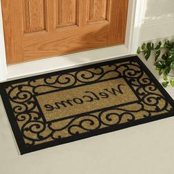 "Door Mat 20X30"" Non Slip Indoor Outdoor Front Porch Entrance"