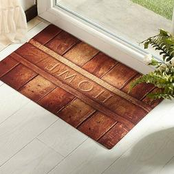 Door Mat Indoor Outdoor Rubber Home Rustic Doormat Non Skid
