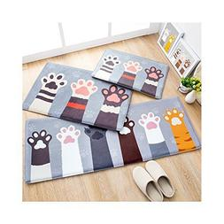 Huluwa Door Mat, Cute Cartoon Floor Mat Entry Carpet, Bathro