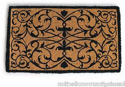 "DOOR MATS - GARDEN GATE COIR DOORMAT - 18"" X 30"" - DOOR MAT"