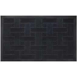 Alpine Neighbor Doormat, Low Profile Outdoor, Washable Cross