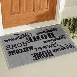Ottomanson Doormat Collection Rectangular Sweet Home Doormat