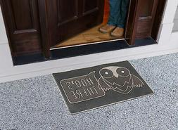 A1 Home Collections LLC 'Hoo's There' Doormat
