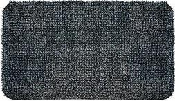 "GrassWorx Doormat High Traffic, 18"" x 30"", Charcoal"