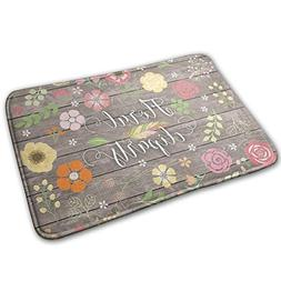 doormat vintage shabby chic floral