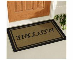 Double Door Outdoor Welcome Floor Mat Heavy Duty Large Coir