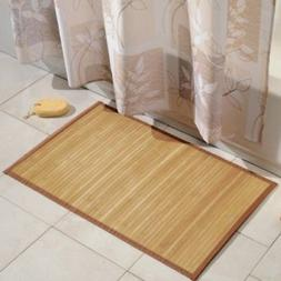 Durable Non-Skid Natural Bamboo Floor Mat 21-Inch x 60-Inch