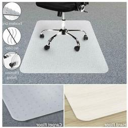 Durable PVC Chair Mat Office Wood Hard Floor Protection Comp