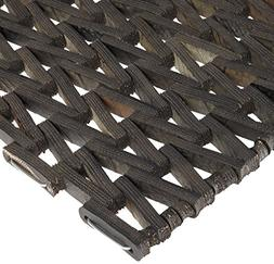 Durable Durite Recycled Tire-Link Outdoor Entrance Mat, Herr