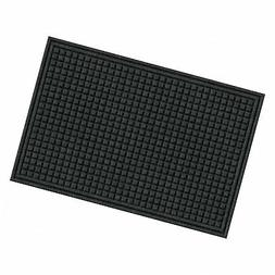Apache Mills Eco Mat Squares Entrance Door Mat, 2-Feet by 3-