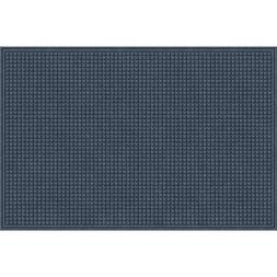 EcoMat Squares Entrance Door Mat, 4-Feet by 6-Feet, Slate Gr