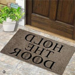 Entrance Doormat - Funny and Creative Doormat - Hold The <fo